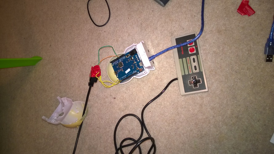 A Working NES Controller over USB